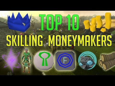 Runescape 3 - Top 10 Skilling Moneymaking Methods