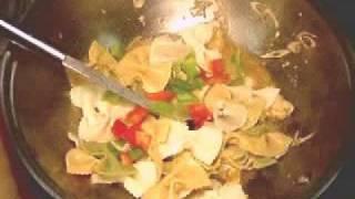 Thai Fusion Pasta With Chicken