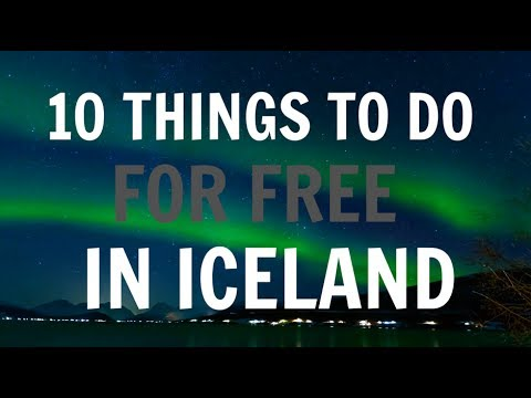 10 THINGS TO DO FOR FREE IN ICELAND!