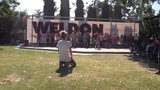 "Weldon Talent Show 2014 - 6th Grade ""Happy"" 2"