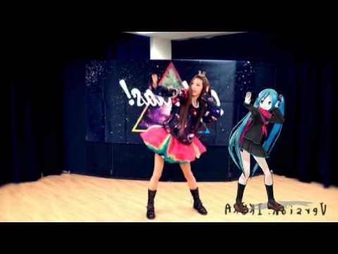 Mirror【いとくとら+MMD 初音ミク】galaxias!踊ってみたコラボ
