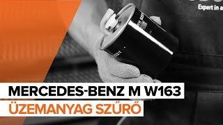 Mercedes ML W164 kezelési kézikönyv online