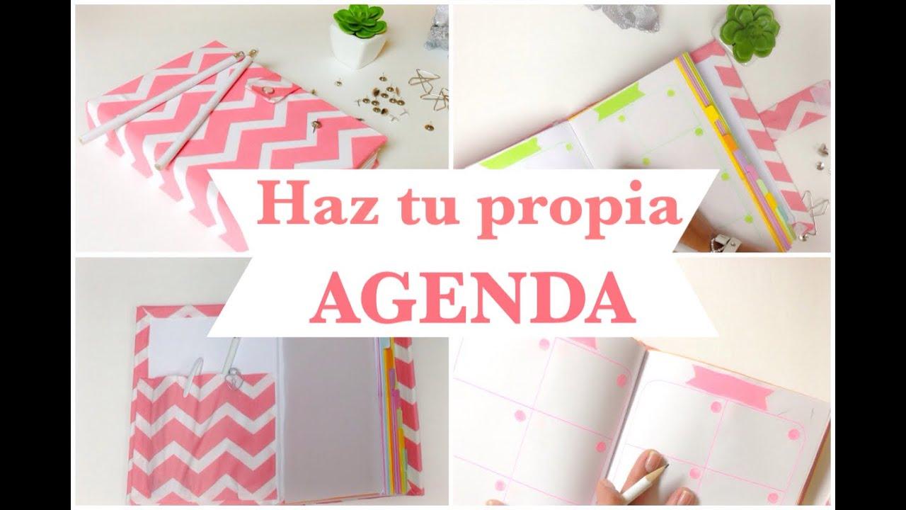 Como hacer una agenda libreta encuadernado b sico - Crear mi propia casa ...