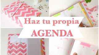 Como hacer una AGENDA | ó libreta(encuadernado básico) thumbnail
