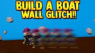 Walk on walls to TREASURE!! *GLITCH* | Build a boat for Treasure ROBLOX