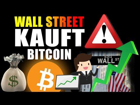 ACHTUNG: WALL STREET Steigt JETZT In Bitcoin Ein (Größten Finanzunternehmen Der Welt KAUFEN Bitcoin)
