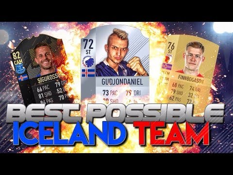 FIFA 18 | THE BEST POSSIBLE ICELAND TEAM!