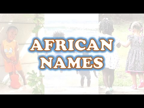 AFRICAN NAMES 2 | Talking Drums