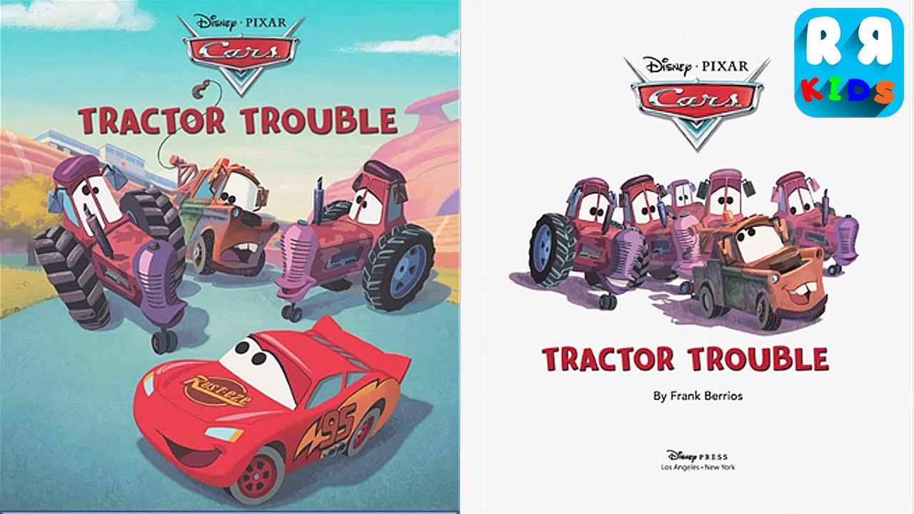 Cars Tractor Trouble Ios Storybook Youtube