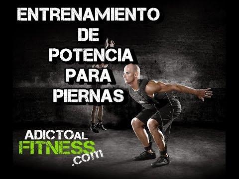 Rutina para potencia de piernas en casa - Adicto Al Fitness