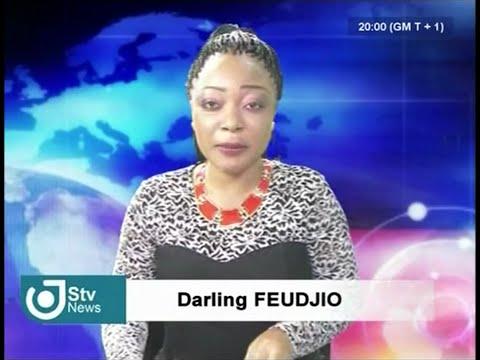 STV NEWS WEEKEND JOURNAL BILINGUE 20H00 - Samedi 27 Août 2016 - Darling FEUDJIO & Inès PANGANG