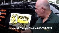 Locksmith Tampa Florida 813-534-6721