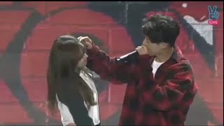 iKON being cute with girls 2!  / Try not to be Jealous