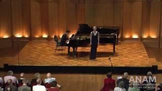 Tabatha McFadyen & Alex Raineri // Gustav Mahler Ruckert-Lieder - Ich bin der welt abhanden gekommen