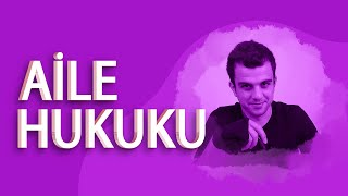 MEDENİ HUKUK - AİLE HUKUKU | TANITIM www.hukukogretir.com