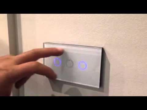 Clixmo Electrical Products Touch Switch Demonstration