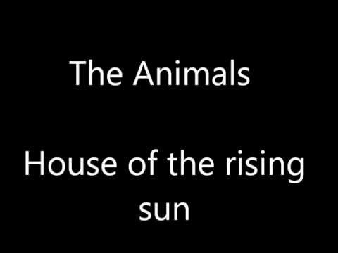 The Animals - House of the rising sun incl. lyrics