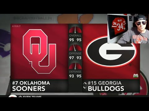 Review Georgia vs Oklahoma LIVE NCAA FOOTBALL 2017