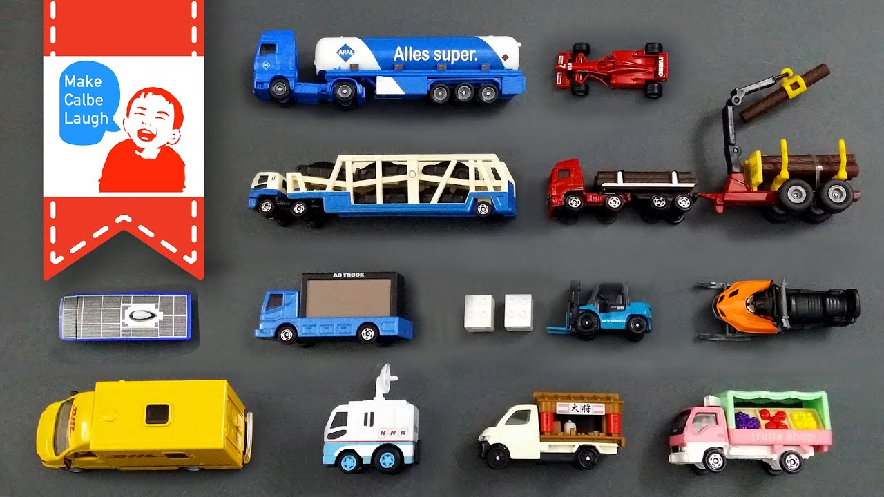 Learning Special Street Vehicles Names And Sounds And More