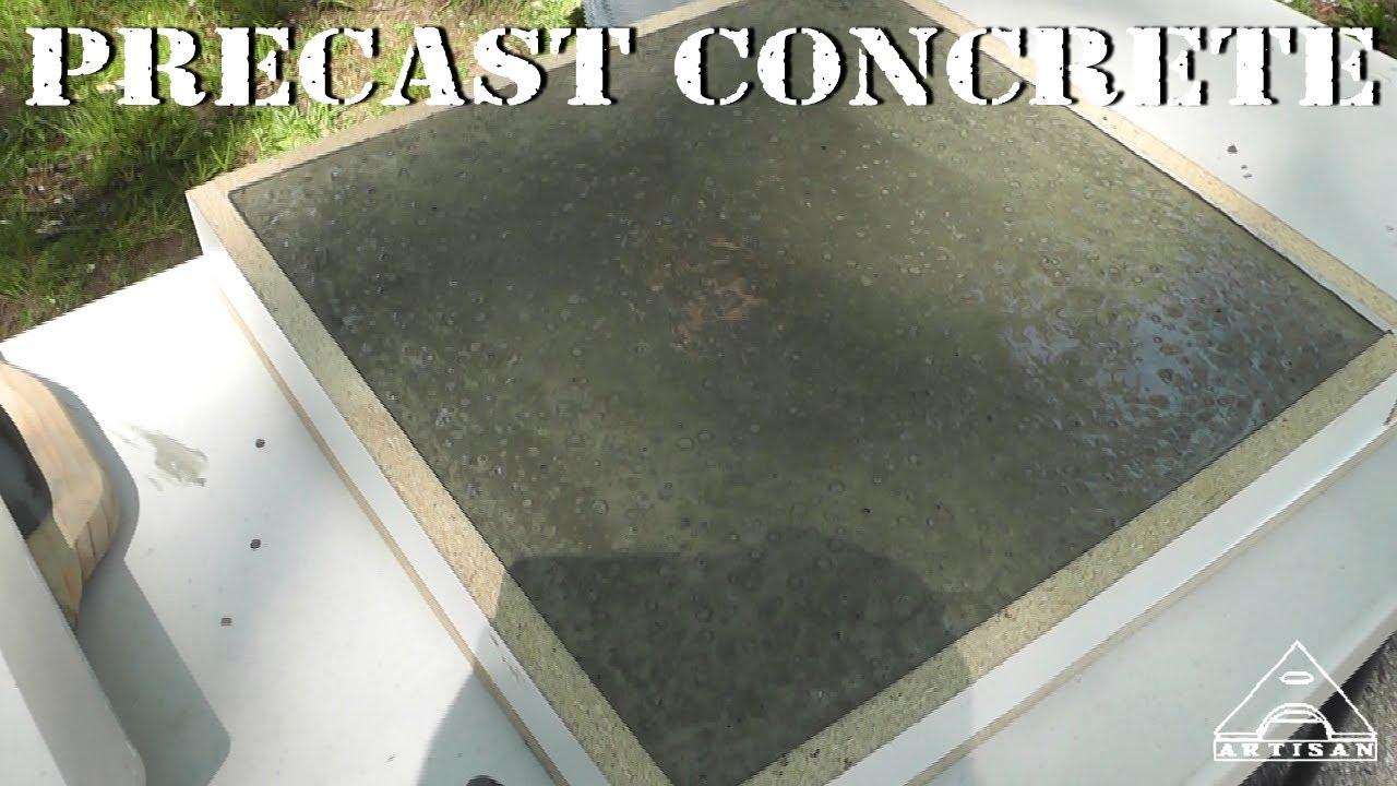 Making a Precast Concrete Sample  Part 1  Forming