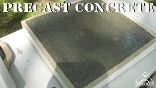 Making A Precast Concrete Sample - Part 1 - Forming, Mixing And Pouring Concrete