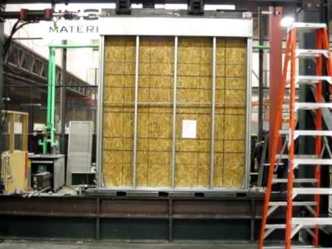 Cfs Nees Shear Wall Tests Test 12 Youtube