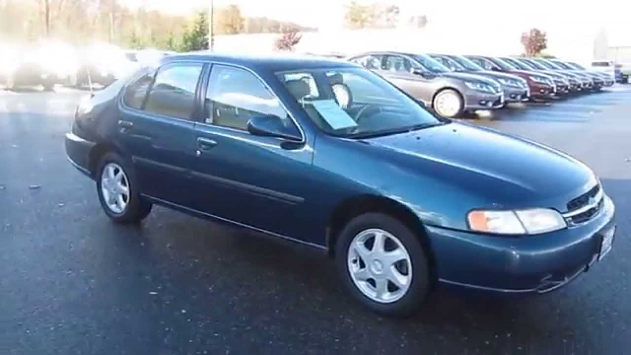 1998 nissan altima, blue emerald pearl - stock# 6935b - walk