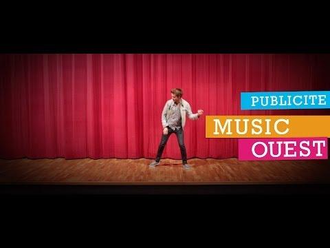 """Publicité cinéma pour """"Music Ouest"""""""