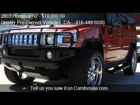 Test Drive The 2003 Hummer H2 Youtube | Upcomingcarshq.com