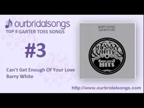 Top 5 Garter Toss Songs - Wedding Songs