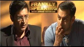 Salman khan on his temper
