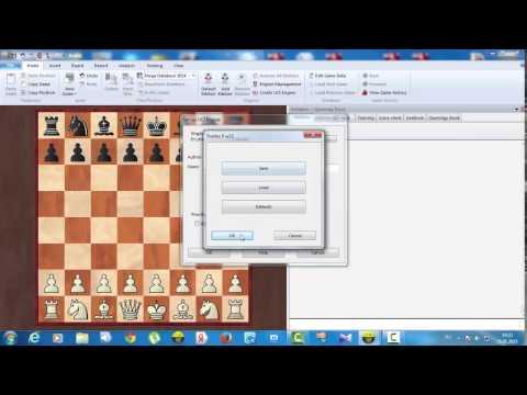 как подключить движок Chess Base 12