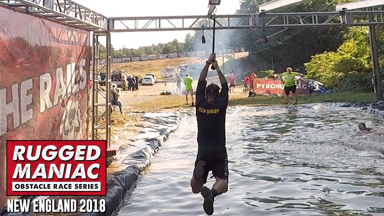 Rugged Maniac 2018 All Obstacles