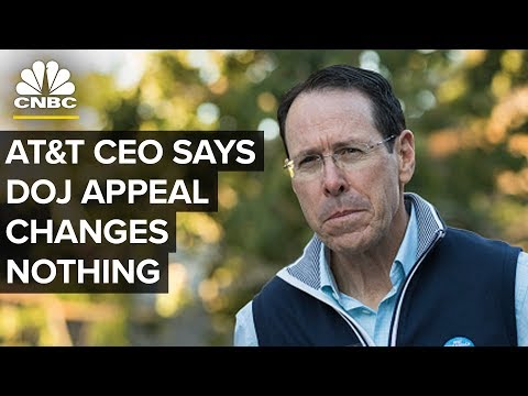AT&T CEO Randall Stephenson: DOJ Appeal Doesn't Change Anything