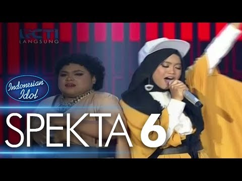 AYU ft. JOAN - COME TOGETHER (The Beatles) - Spekta Show Top 10 - Indonesian Idol 2018