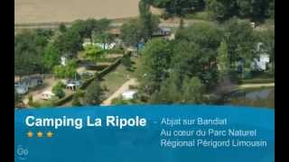 Camping Le Ripole, Abjat, Dordogne