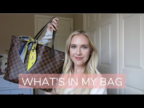 WHAT'S IN MY BAG   Louis Vuitton Neverfull