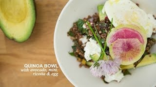 Summer Quinoa Salad With A Side Of Awesome (aka Avocado & Egg) | Farm To Table Family | Pbs Parents