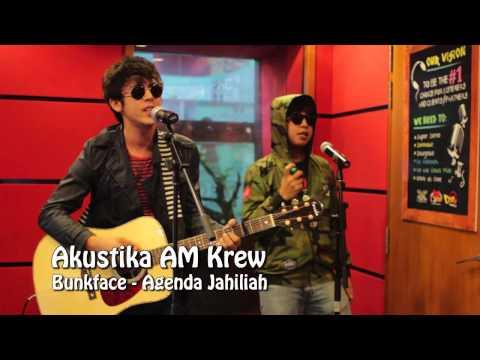 Bunkface - Agenda Jahiliah & Situasi (Medley) Akustika AM Krew