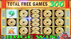 OMG OVER 300+ SPINS! HUGE WINNINGS ON CHINA MYSTERY SLOT MACHINE