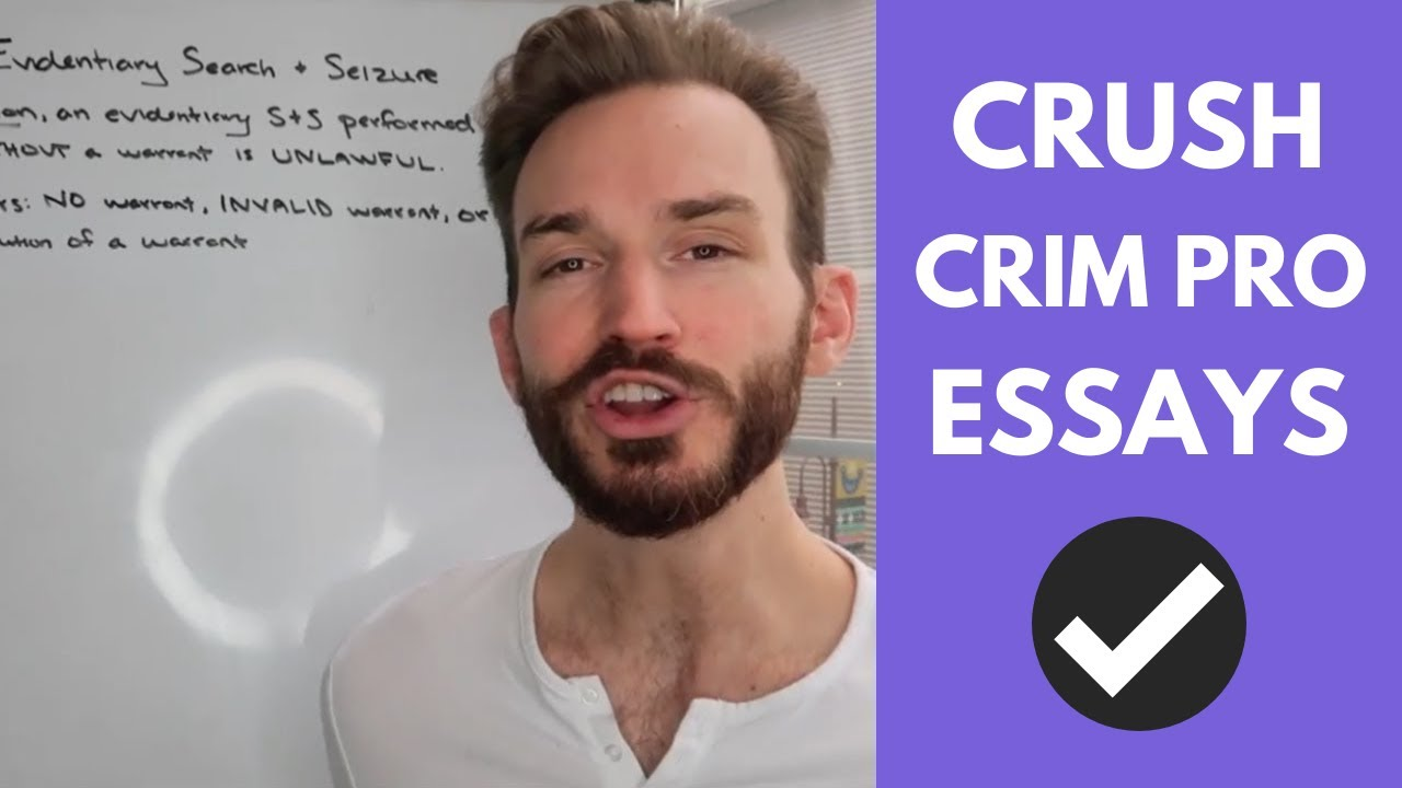 How to Analyze Exceptions to the Search Warrant Requirement on a Criminal  Procedure Essay