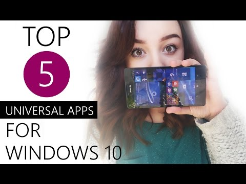 Top 5: Universal Apps for Windows 10