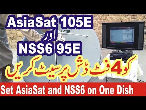 Download How To Set Nss6 With Asiasat 5 Ku MP3, MKV, MP4 - Youtube