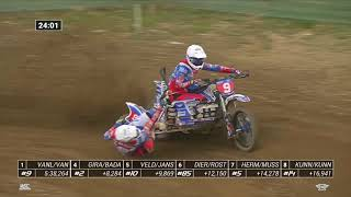 LAMAX GP of Czech rep. - RACE 2 - World Sidecarcross Championship