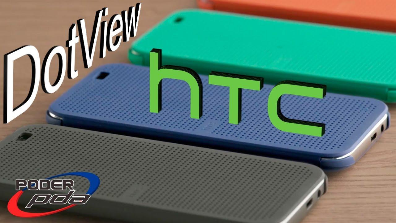 de40a5ebe23 HTC DotView Funda M8 - Análisis en Español HD - YouTube