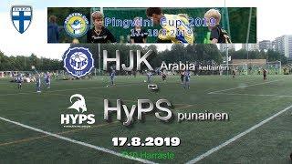 Pingviini Cup 2019 HJK Arabia keltainen vs HyPS punainen 17.8.2019