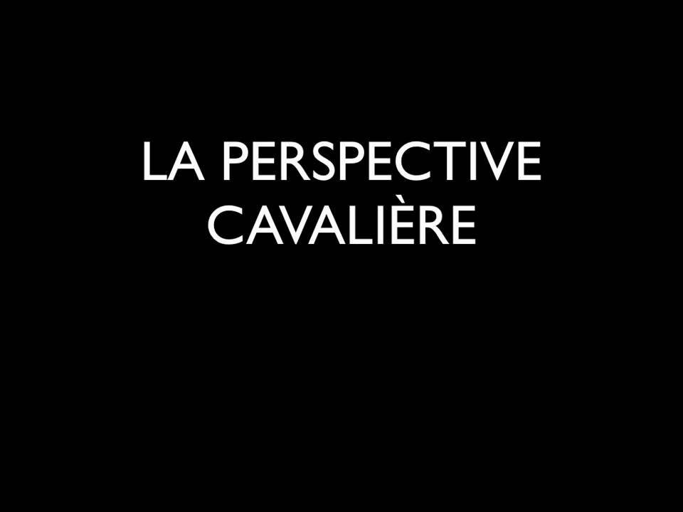 PERSPECTIVE CAVALIÈRE.mov - YouTube