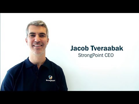 An interview with StrongPoint's new CEO Jacob Tveraabak