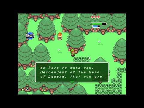 Legend of Zelda Book of Mudora (fangame)