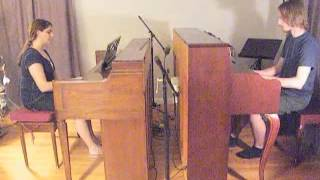 Song For You - Piano Duet (Jenny & Tyler Cover)
